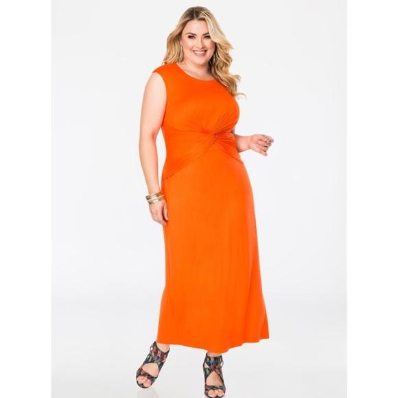 3296e781c2a Ashley Stewart Dresses   Skirts - Ashley Stewart draped knotted maxi dress( sale)